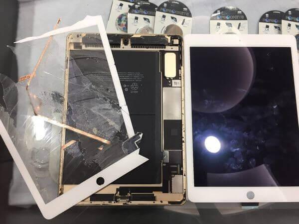 『黑盒子手機維修紀錄#17』IPAD AIR 2 螢幕破裂 觸控及顯示功能正常