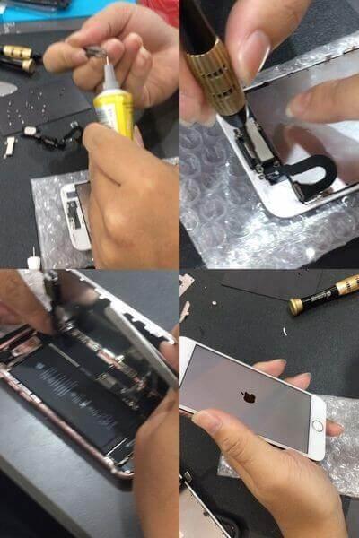 『黑盒子手機維修紀錄#14』IPHONE7螢幕破裂