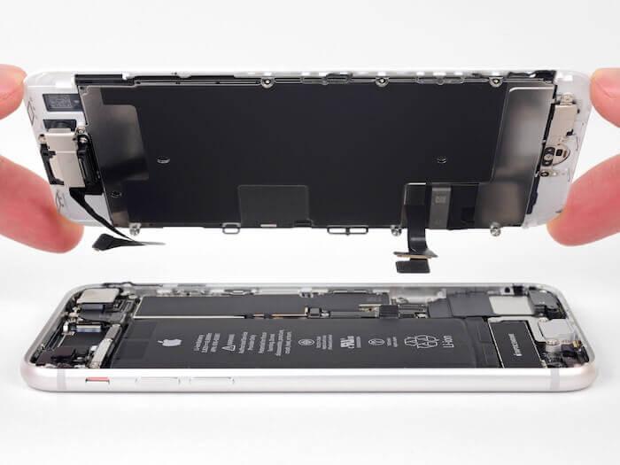 分享一台重摔iphone6s plus 不開機經驗