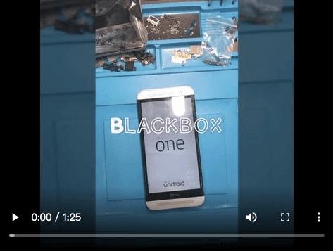 『黑盒子手機維修紀錄#19』HTC M9 軟體當機