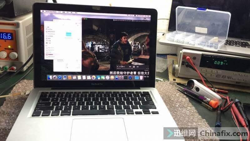 [MACBOOK] 蘋果筆記本電腦101進水腐蝕多處斷線維修