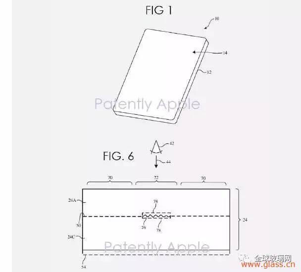 iPhone獲背面紋理玻璃專利