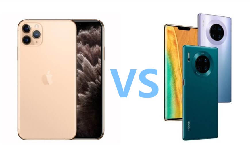 iPhone 11 Pro vs 華為Mate 30 Pro 相機對比
